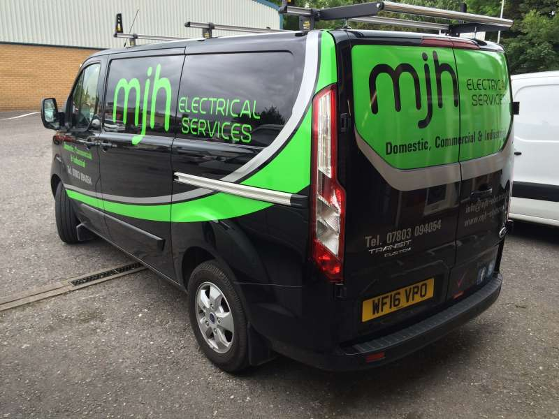 Vehicle Signage Company In Taunton Pj Signs